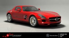 The AMG-designed Mercedes-Benz SLS AMG was unveiled at the 2009 Frankfurt Motor Show and went on sale a year later. While it effectively replaced the SLR McLaren on the production line, its makers saw the car more as a spiritual successor to the 1950s-vintage 300SL. To drive the car that opens doors, buy the Mercedes-Benz SLS AMG on Simraceway.