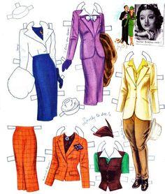 Myrna Loy paper doll   Бумажные куклы. Комментарии : LiveInternet ...