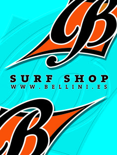 bellini surf shop. beach bag