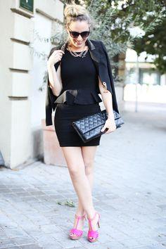 pepplum dress