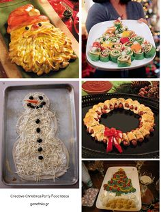 Creative Christmas Party Food Ideas!