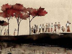 Gorillaz Artist Paints Climate Change in Bangladesh