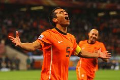 Giovanni van Bronckhorst, July 6, Netherlands vs Uruguay, Semi Final. One of the greatest world cup goals in history.