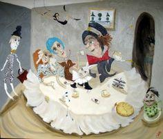 "Saatchi Art Artist Chris Wake; Painting, ""High Tea"" #art"