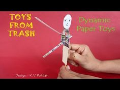 We are going to make four delightful Dynamic Paper Toys where they flagellate their hands – move them up and down, bang a table or just clap. All the toys ar...