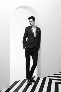 Pierre Balmain 2012 Fall/Winter Lookbook #mens #fashion #menswear
