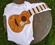 Delightfully Fun Guitar Onesie