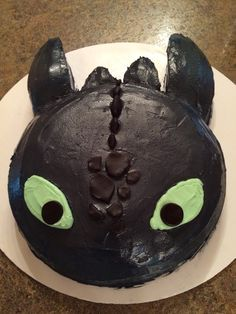 Image result for simple How to train your dragon cake