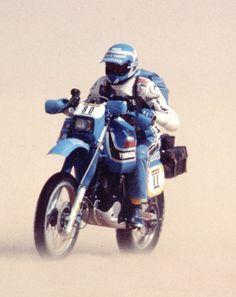 JC Olivier,Paris - Alger - #Dakar 1983.