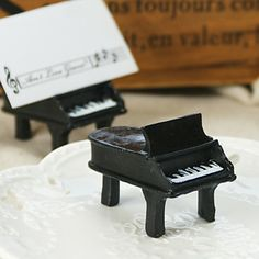 Ain't Love Grand? Piano Place Card Holders (set of 4) - USD $ 7.99