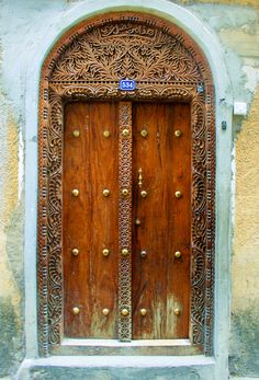 the doors of stone town - Land of Nams