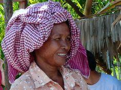 VILLAGE WOMAN - CAMBODIA.