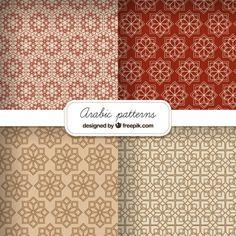 Arabic pattern colle