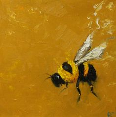 Bee painting.