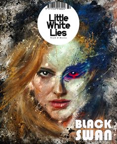 D SUBMISSION, BLACK SWAN COVER FOR LITTLE WHITE LIES by Brian Cantwell, via Behance