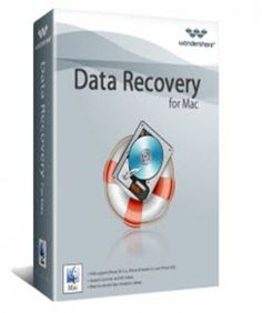 Wondershare Data Recovery for Mac 40% Discount coupon