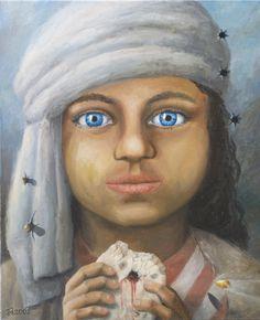 Dzieci Afganistanu - from http://www.touchofart.eu/en/Jaroslaw-Jasnikowski/jj69-Children-of-Afganistan/