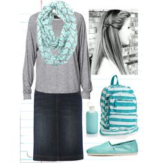 """""""Back to School #4"""" by modestlyme97 on Polyvore"""