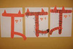 Image result for t is for tiger crafts