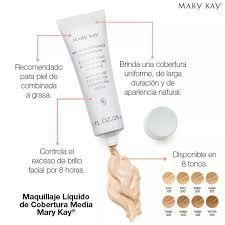 Resultado de imagen para tabla comparativa de maquillajes mary kay