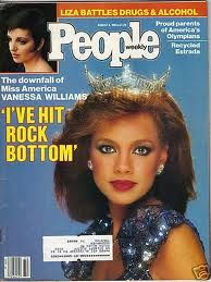 Vanessa Williams on the cover of People - August 6, 1984