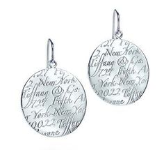 Tiffany & Co Notes Round Earrings