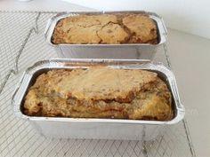 Pan de plátano y nuez para la dieta paleo, sin gluten