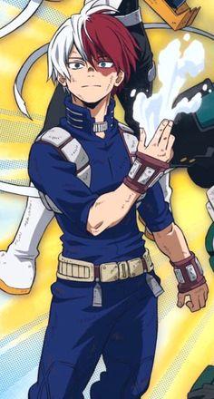 He smiles! 😍 He looks so good - mypin - OMG! He smiles! 😍 He looks so good – # smiles - Boku No Hero Academia, My Hero Academia Memes, Hero Academia Characters, My Hero Academia Manga, Anime Characters, Anime Echii, Fanarts Anime, Hot Anime Boy, Anime Guys
