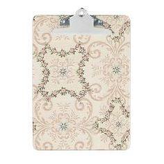 Vintage Antique Victorian Flourish Clipboard> Vintage Antique Victorian Flourish> Pattern Designs