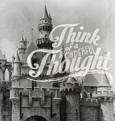 think of a wonderful thought