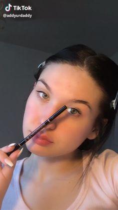 tiktok makeup looks her TikTok: addyurdaddy her : addyyrae Makeup Eye Looks, Natural Makeup Looks, Cute Makeup, Glam Makeup, Gorgeous Makeup, Pretty Makeup, Simple Makeup, Skin Makeup, Natural Lips