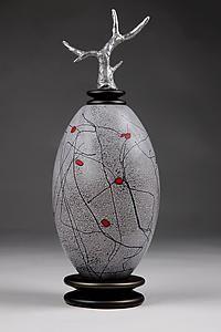 Zimska Jabuka: Eric Bladholm: Art Glass Vessel