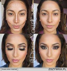 konturowanie twarzy ! bardzo przydatna umiejętność na różne okazje. a Wy co myślicie o konturowaniu? jesteście za/ przeciw ?