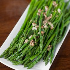 In less than ten minutes, you can make the most delicious Perfect Sauteed Garlic Asparagus. It is the easiest and tastiest spring vegetable.