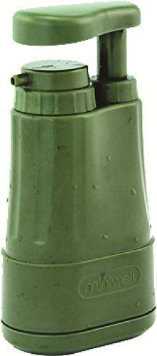 Highlander Portable Outdoor - Filtro de agua, color verde, talla única