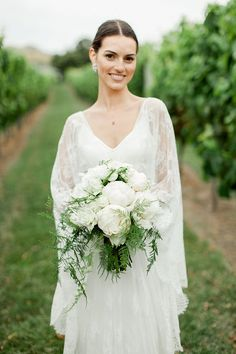 5 Must Haves for a Stunning Spring Wedding - a suitably Spring wedding dress
