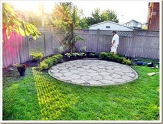 Using Cheap Concrete Block You Can Create The Look Of Stone Pavers Remodelaholic