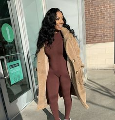 Black Girl Instagram, Fall Clothes, Fall Outfits, Dresses With Sleeves, Long Sleeve, Fitness, Fashion, Moda, Fall Fashion Staples