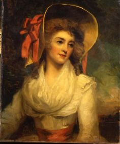 Portrait of a Lady by John Wesbrooke Chandler, very early 1790s