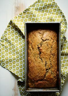Olive Oil Zucchini Bread with Lemon & Cardamom Light, moist, and subtly flavored, this Olive Oil Zucchini Bread recipe is our new family favorite. Olive Oil Zucchini Bread, Coconut Zucchini Bread, Lemon Zucchini Muffins, Olive Oil Bread, Olive Oil Cake, Zucchini Bread Recipes, Whole Food Recipes, Dessert Recipes, Cooking Recipes