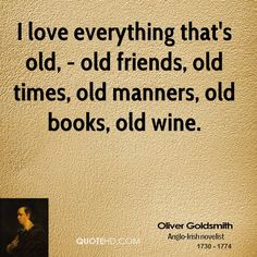Oliver Goldsmith Quote shared from www.quotehd.com