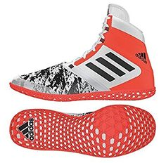 big sale e9efd 421ff adidas Flying Impact Ring Shoe - White   Red   Boxing   Wrestling   Size 5.  Boxing shoes. It s an Amazon affiliate link.
