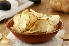 Homemade Salt and Vinegar Potato Chips will make you question why you buy chips in the first place. Vinegar powder gives these chips that lip-smacking flavor, just like store-bought