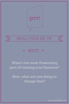 Dealing with small business frustrations