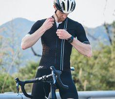 Mens road bike jersey