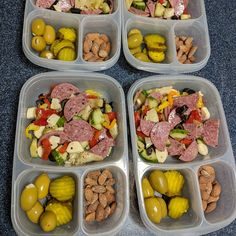 Keto lunches packed for the week! packed in - Keto lunches packed for the week! Keto Desserts, Keto Snacks, Healthy Snacks, Healthy Eating, Healthy Cold Lunches, Carb Free Snacks, Clean Eating, Keto Lunch Ideas, Lunch Snacks