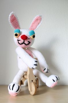 Easter Rabbit Free Amigurumi Pattern http://crochet-andrea.tumblr.com/post/82596994470/free-pattern-easter-rabbit-for-our-followers