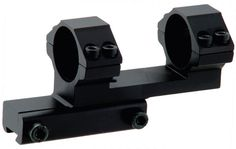 "UTG 1PC Offset Airgun Mount w/Stop Pin, 1"" Dia,Bi-direction"