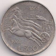 Wertseite: Münze-Europa-Südeuropa-Italien-Lira-500.00-1961