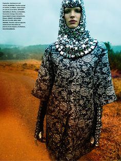 Alisa Ahmann by Greg Kadel for Numéro #177 October 2014
